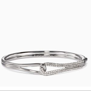 NWT Kate Spade 'Get Connected' Pave Loop Bangle🌟